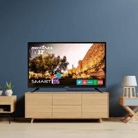 TV em oferta Britânia 32 polegadas sob rack
