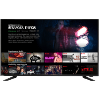 TV Smart Britânia LED de 40 polegadas